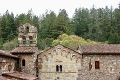 Здание церкви, Napa Valley, Калифорния Стоковая Фотография