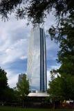 Здание энергетической компании Девона в Оклахомаа-Сити Стоковое фото RF