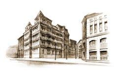 здание иллюстрация вектора