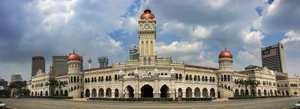 Здание Abdul Samad султана в Куалае-Лумпур стоковое фото