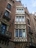 здание barcelona Стоковое Изображение