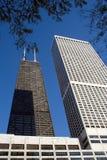 здание chicago hancock john Стоковые Изображения