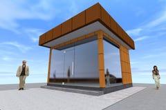 здание 3D представляет в Армении Стоковые Изображения RF