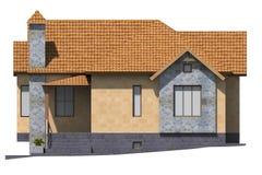 здание 3D представляет в Армении Стоковая Фотография