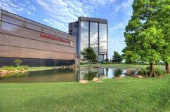 Здание Fidelity американца в Оклахомаа-Сити Стоковые Изображения