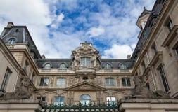 Здание Fieubet исторический памятник расположенный в Париже, Франции Стоковое Фото