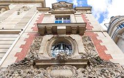 Здание Fieubet исторический памятник расположенный в Париже, Франции Стоковые Изображения RF