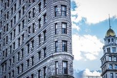 Здание Flatiron, Манхэттен, Нью-Йорк, США, 13-ое октября 2018 стоковые изображения rf