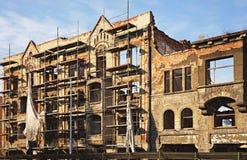 здание kaliningrad разрушенный центром Стоковые Изображения