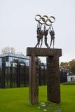 Здание Lausanne IOC Стоковые Изображения RF