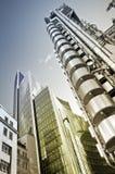 здание lloyd london s Стоковые Фотографии RF