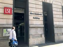Здание LSE новое академичное стоковая фотография