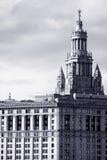 здание manhattan муниципальный Стоковое фото RF