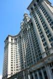 здание manhattan муниципальный Стоковое Изображение
