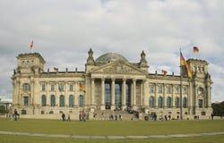 Здание Reichstag Стоковое Изображение