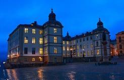 здание stockholm Стоковые Фото
