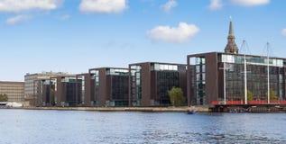 Здания библиотеки в Копенгагене Стоковые Фото