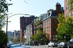 Здания Бостона исторические, Массачусетс, США Стоковое Изображение RF