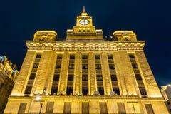 Здания 6 бунда Шанхая стоковая фотография