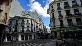 Здания Буэноса-Айрес стоковые изображения rf