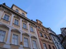 Здания в Праге, чехии Стоковые Изображения