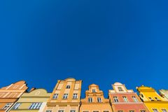 Здания в Jelenia Gora Стоковые Фотографии RF