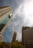 здания городской новый winnipeg Стоковое Изображение RF