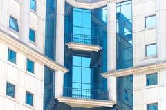 Здания детализируют в улицах города Сан-Паулу стоковое фото