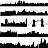 здания известный s Британии иллюстрация штока