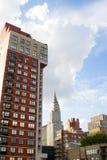 Здания Ист-Сайд, NYC Стоковое Изображение RF