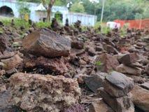 Здания камня виска стоковое фото rf