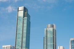 Здания кондо города Сан-Франциско Стоковое Изображение