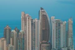 Здания небоскреба, городская антенна города Панама (город) - Стоковая Фотография RF