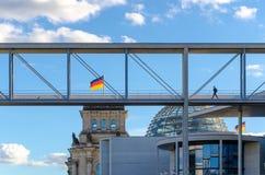 Здания правительства Берлина стоковое изображение