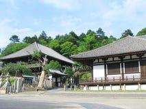 Здания связали с виском Todaiji Стоковые Изображения RF