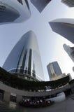 здания смотря высокорослое поднимающее вверх Стоковые Фотографии RF