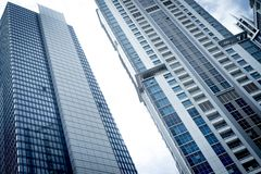 Здания с голубым небом Стоковое Фото