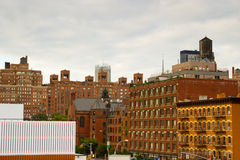 Здания Челси, New York Стоковая Фотография