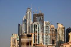 Здания Highrise Марины Дубая Стоковое Фото