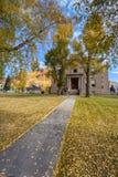Здания Silverton Колорадо городские исторические во время падения стоковые изображения rf