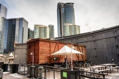 Здания Toronro кондо безграничности стоковые фотографии rf