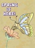 здесь весна бесплатная иллюстрация