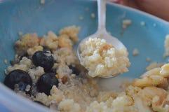 Здоровая доброта: Шар завтрака Vegan стоковое изображение