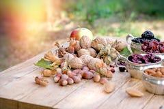 Здоровая еда - здоровая вегетарианская еда Стоковая Фотография RF