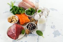 Здоровая еда для красивых волос Стоковые Фото