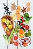 Здоровая еда для Dieting Стоковое Изображение