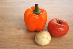 Здоровая еда, свежие овощи Стоковые Изображения RF