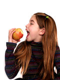 здоровая едока счастливая стоковое изображение rf