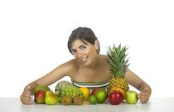 здоровая женщина стоковое изображение rf