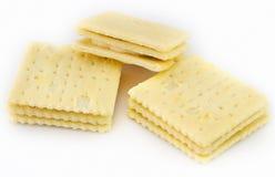 Здоровая живущая концепция: печенья масла изолированные на белой предпосылке стоковая фотография rf